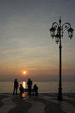 Lazise in the evening Royalty Free Stock Image