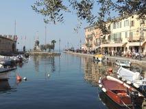 Lazise - Garda Lake royalty free stock image