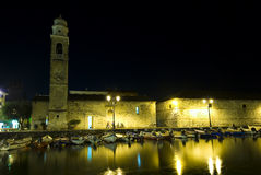 Lazise nightshot Royalty Free Stock Photo