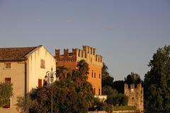 Lazise, old building, Lake Garda, Italy Royalty Free Stock Images