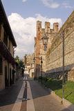 Lazise, Scaliger castle, Italy, Europe Royalty Free Stock Photo
