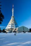 Lazne de Krkonose - de Janske - montañas de Czeh Fotografía de archivo libre de regalías