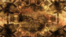 Lazo antiguo de la textura del fondo de la fantasía almacen de video