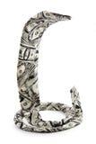 Lazo bajo la forma de serpiente Imagen de archivo libre de regalías