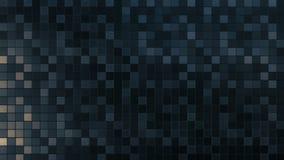 Lazo cuadrado del fondo del modelo del mosaico almacen de video