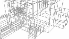 Lazo de desarrollo cada vez mayor de la construcción de la estructura almacen de metraje de vídeo