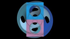 Lazo de desarrollo de la forma de la cámara de la foto de la mezcla del extracto del marco del alambre metrajes