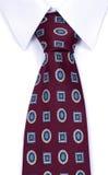 Lazo de la camisa y del cuello Fotos de archivo libres de regalías