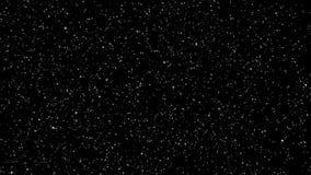 Lazo de la capa de las partículas de la nieve metrajes