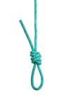Lazo de la cuerda Foto de archivo