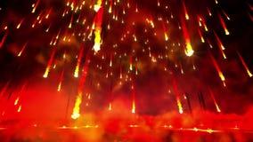 Lazo de la lluvia del fuego