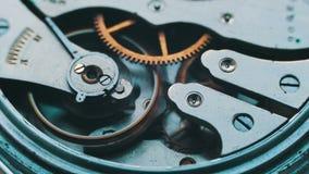 Lazo de la macro del mecanismo del reloj metrajes