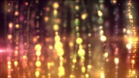 Lazo de las cortinas del oro