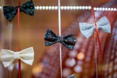 Lazo de mariposa hecho a mano imagen de archivo libre de regalías