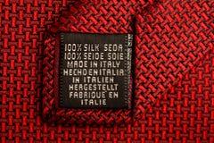 Lazo de seda Imagen de archivo libre de regalías