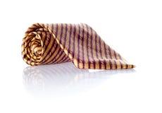 Lazo de seda aislado en el fondo blanco Fotografía de archivo