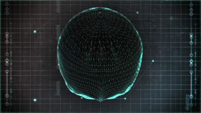 Lazo del cráneo de alta tecnología metrajes