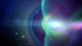 Lazo del fondo del espacio ilustración del vector