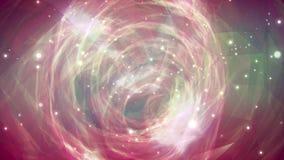 Lazo del fondo del movimiento de la tormenta 4K de la galaxia libre illustration