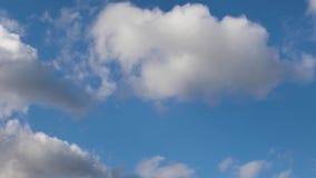Lazo del lapso de tiempo de Cloudscape almacen de video