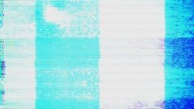 Lazo del modelo de prueba de la TV almacen de video