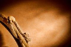 Lazo del oeste americano del vaquero del rodeo Foto de archivo libre de regalías
