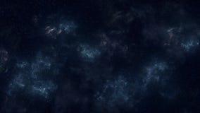 Lazo del panorama del espacio ilustración del vector