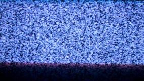 Lazo del ruido de la TV almacen de video