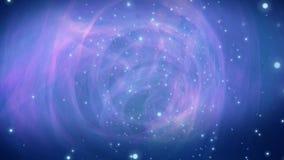 Lazo galáctico del fondo del movimiento del espiral 4K libre illustration
