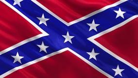 Lazo inconsútil de la bandera confederada libre illustration