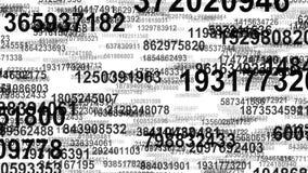 Lazo inconsútil del flujo de datos de los números al azar libre illustration