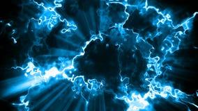 Lazo inconsútil del fondo abstracto eléctrico del movimiento almacen de metraje de vídeo