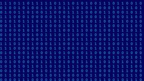 Lazo inconsútil 4k UHD del flujo de datos del ordenador libre illustration