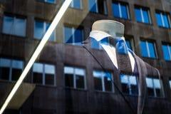 Lazo no manual del primer costoso de Suit Success Work del hombre de negocios Imagenes de archivo