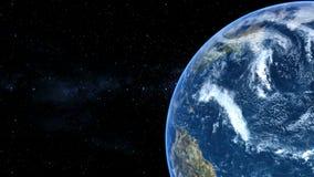 Lazo realista de la tierra ilustración del vector