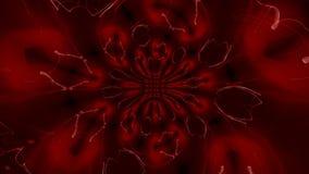 Lazo rojo giratorio del remolino metrajes