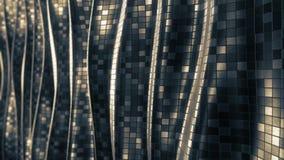 Lazo suave del fondo del extracto del modelo de mosaico metrajes