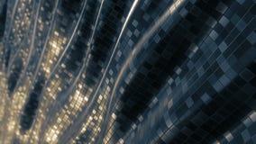 Lazo suave del fondo del extracto del modelo de mosaico almacen de metraje de vídeo