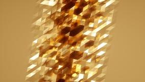 Lazo superficial geom?trico poligonal abstracto almacen de video