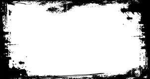 Lazo texturizado marco apenado Grunge ilustración del vector