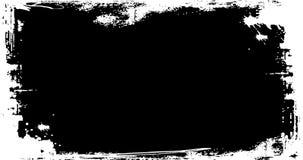 Lazo texturizado marco apenado Grunge stock de ilustración