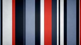 Lazo video del fondo de las barras texturizadas estéticas multicoloras Paperlike de las rayas 4k 60fps ilustración del vector
