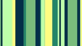 Lazo video del fondo de las rayas 35 de //4k 60fps de las barras amarillas multicoloras del verde libre illustration