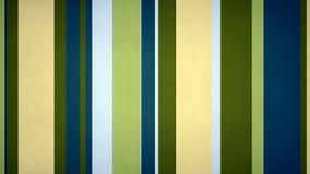 Lazo video del fondo de las rayas 4k 60fps de las barras frescas multicoloras Paperlike de la textura ilustración del vector