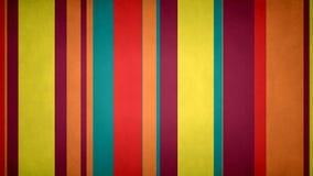 Lazo video del fondo de las rayas 26 de //4k 60fps de las barras multicoloras Paperlike de la textura stock de ilustración
