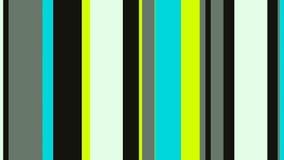 Lazo video del fondo de las rayas 4k 60fps de las barras de neón multicoloras del contraste stock de ilustración