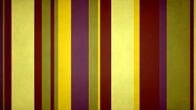 Lazo video del fondo de las rayas 47 de //4k 60fps del Grunge de las rayas exóticas multicoloras Paperlike del color ilustración del vector
