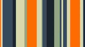Lazo video dinámico multicolor del fondo de las barras de colores de //4k 60fps de las rayas 45 libre illustration