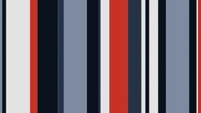 Lazo video estético multicolor @60fps del fondo de las barras de colores de las rayas 4k stock de ilustración