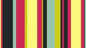 Lazo video multicolor del fondo de las barras de color del diseño de //4k 60fps de las rayas 27 libre illustration